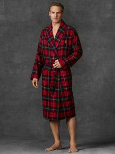Plaid Flannel Robe, $65 | Ralph Lauren