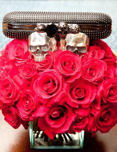 skulls & flowers.
