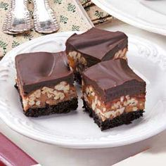 Caramel Pecan Candy Recipe from Taste of Home -- shared by Dick Deacon of Lawrenceville, Georgia