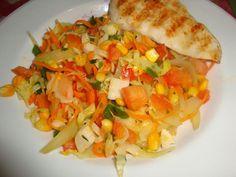 Receita de Salada tropical saudavel - Show de Receitas