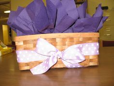 A Simple Thank You Gift Basket