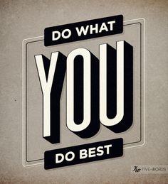 do. #fivewords