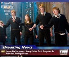 harry potter/twilight: leave no survivors