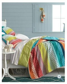 simple strip quilt idea