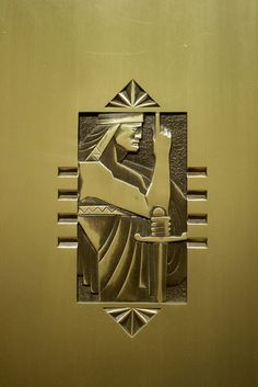 Buffalo City Hall, Elevator Door Detail  Buffalo, New York  http://www.travelandtransitions.com/our-travel-blog/