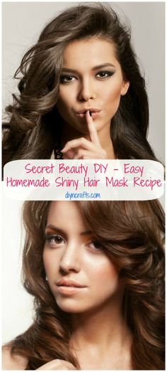 Every woman wants silky and shiny hair  This awesome DIY hair mask is a great alternative to those expensive products and especially since you don't have to worry about chemicals or other ingredients that may cause excessive damage to your hair if you use them too much.