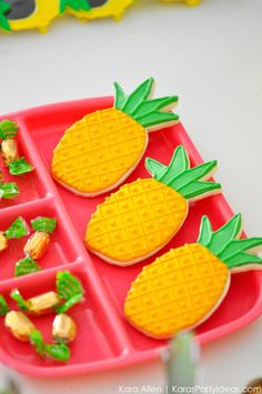 Pineapple cookies! P
