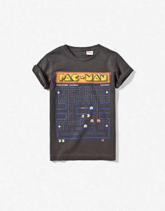 PACMAN T-SHIRT. Moms: Don't overlook the boys section/department for your girls! This is a great find. Zara.
