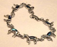 Beautiful horse bracelet via Etsy