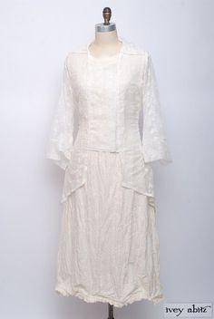 Summer 2014 Look No. 38 | Elegant Women's Clothing - Ivey Abitz The most delicate cotton laces!