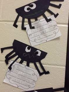 1st Grade Fantabulous: Verbs using spiders