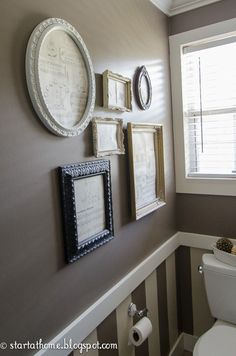 funny sayings, frame, photo walls, family photos, sheet music, guest bath, families, bathroom, famili photo