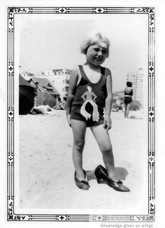 Girl on the beach. Long Beach, 1929. For information about copyright and ordering images from the LBPL Digital Archive, see http://www.lbpl.org/history.