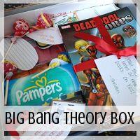 care packag, bang theori, big bang theory love