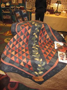 Pattern is in Quilt Sampler magazine for fall 2011