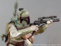 You're the richest Bounty Hunter in the Universe and you can't afford a regular paint job? There's a reason why things are painted Boba. Don't you remember how pristine your dad's armor looked? How about simply removing that dent - nice piece of detailing by the way - from your helmet?