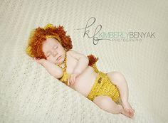 Lion King Hat and  Diaper Cover  Set  by PreciousMomentsProps, $42.00 @Karissa Milichichi