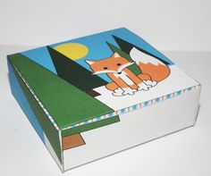 FREE printable Fox Box by Don't Eat the Paste