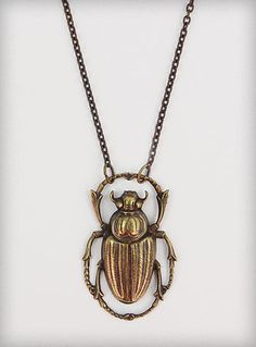 Apothecary Beetle Study Necklace | PLASTICLAND