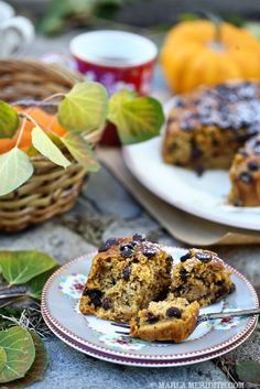 Gluten Free Pumpkin Chocolate Chip Cake