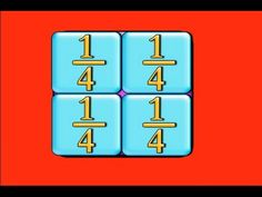 Fractions-Fractions-Song-This one's about simple fractions- they're parts of a whole! Have your students sing about halves, thirds, quarters, numerators and denominators!