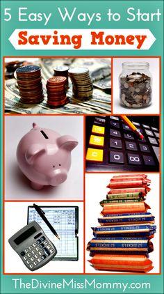 5 Easy Ways to Start Saving Money