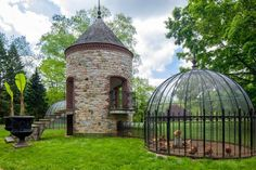 Wow - what a great chicken house !