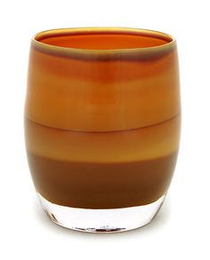 jane's caramel is a banded  handmade glass candle holder or vase. 10% from the sale of each 'jane's caramel' will be donated to the University of Washington School of Nursing. Another gift for Christmas.