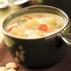 Hearty Cheese Soup