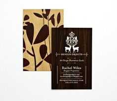 nice business card