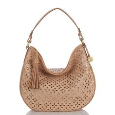 The new #brahmin kathleen hobo in natural perf. #summer2013 #brahminsummerstyle