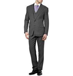 Ralph Lauren Purple LabelThree Piece Pindot Suit