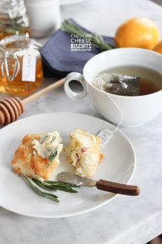 Cheddar Cheese Biscuits #Recipe