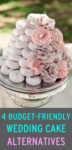 4 budget-friendly wedding cake alternatives