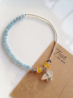 Aliexpress.com : Buy 925 Pure Silver Beaded Anklet Aquamarine Opal Agate Gourd  Free Shipping on Miss Limy's store . $51.95