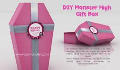 DIY Caja de regalo Monster High