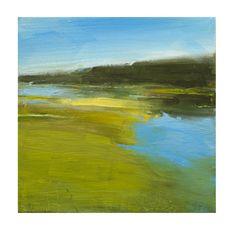 "Steven Goodman, ""Marshland"", acrylic on canvas"