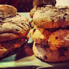 Hogazas de pan medieval