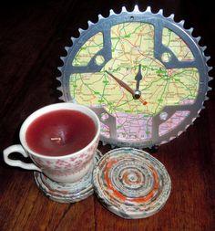 chain ring, ring clock, bike chain