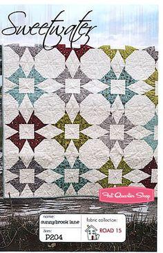 Sunnybrook Lane Quilt Pattern Sweetwater #P204