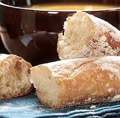 Light, fluffy french bread like what you get at Walmart, but tastier. Involves a lot of rising time (2+ hours) and lots of air being mixed in, but the step-by-step instructions are really easy to follow and the bread is amazing!