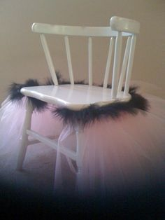 Tutu Chair....how adorable!
