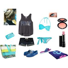 A Day at the WaterPark(: created on Polyvore