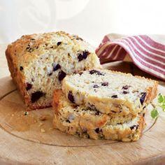 30 Best Quick Bread Recipes | Kalamata Olive Bread with Oregano | CookingLight.com