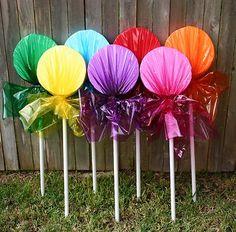 Outdoor Lollipop Decoration