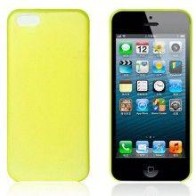 Carcasa iPhone 5C - Ultra fina 0.35mm Amarilla  AR$ 30,94