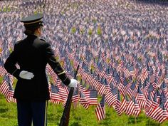 Grateful for our veterans, especially those who laid down their lives for their country.