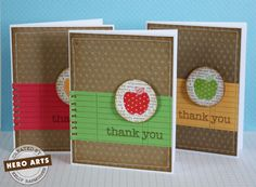 adorable set of cards for teacher gift