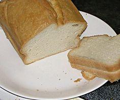 Coconut butter sandwich bread