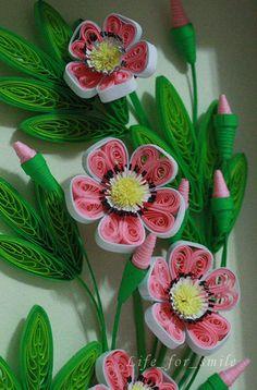 Ветка цветов 3